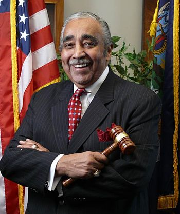 English: U.S. Congressman Charles B. Rangel's ...