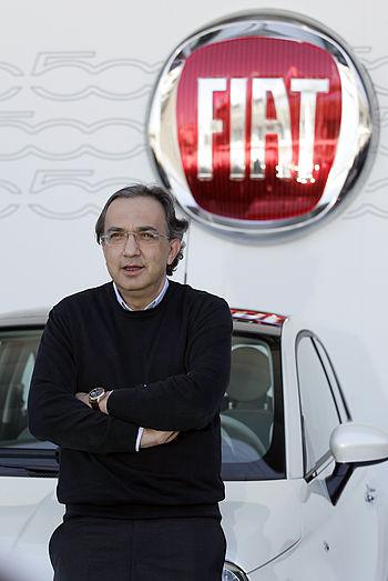 Italiano: Sergio Marchionne