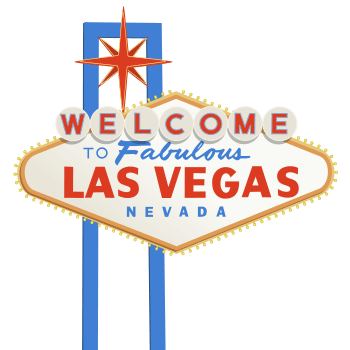 English: Vector image of the Las Vegas sign. P...