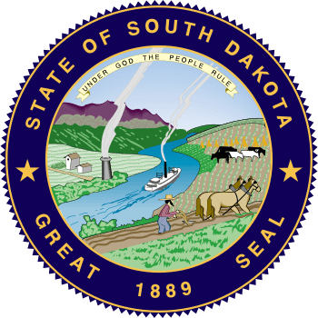 State Seal of South Dakota.