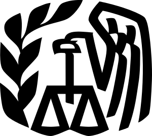 Logo of the Internal Revenue Service