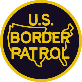 Logo of the United States Border Patrol.