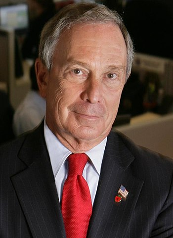 English: New York Mayor, Michael R. Bloomberg.