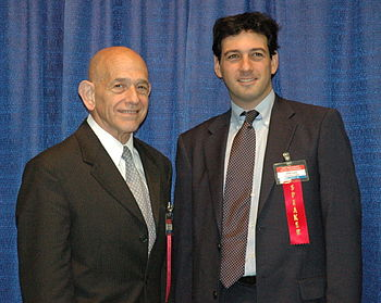 Parker v. D.C. attorneys Bob Levy (left) and A...