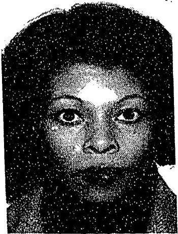 Photo of fugitive Assata Shakur.