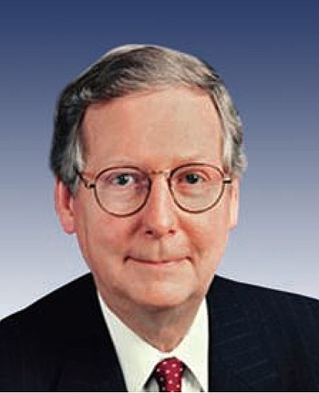 English: Kentucky Senator Mitch McConnell