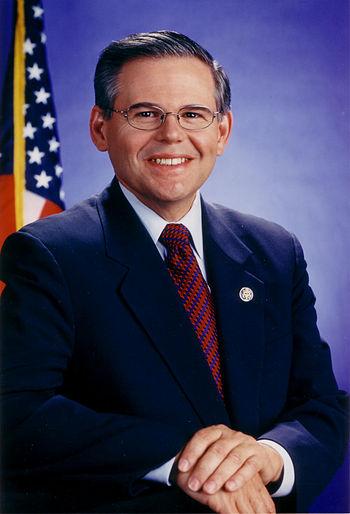 Robert Menendez, U.S. Senator from New Jersey.