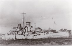 HMS Orchis in December 1942