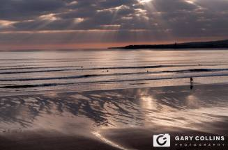Sunset Surf.....Lahinch. Photo Gary Collins Photography