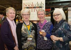 Sisters Mary O'Connell,Ann Knox,Bernadette O'Connell and Brid O'Connell at the Ennis Book Club Festival this weekend. Photograph by Eamon Ward