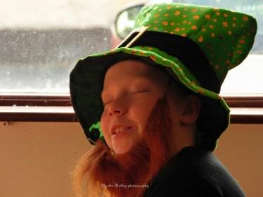 The sleepy leprechaun Scott Molloy. Pic Martin Molloy