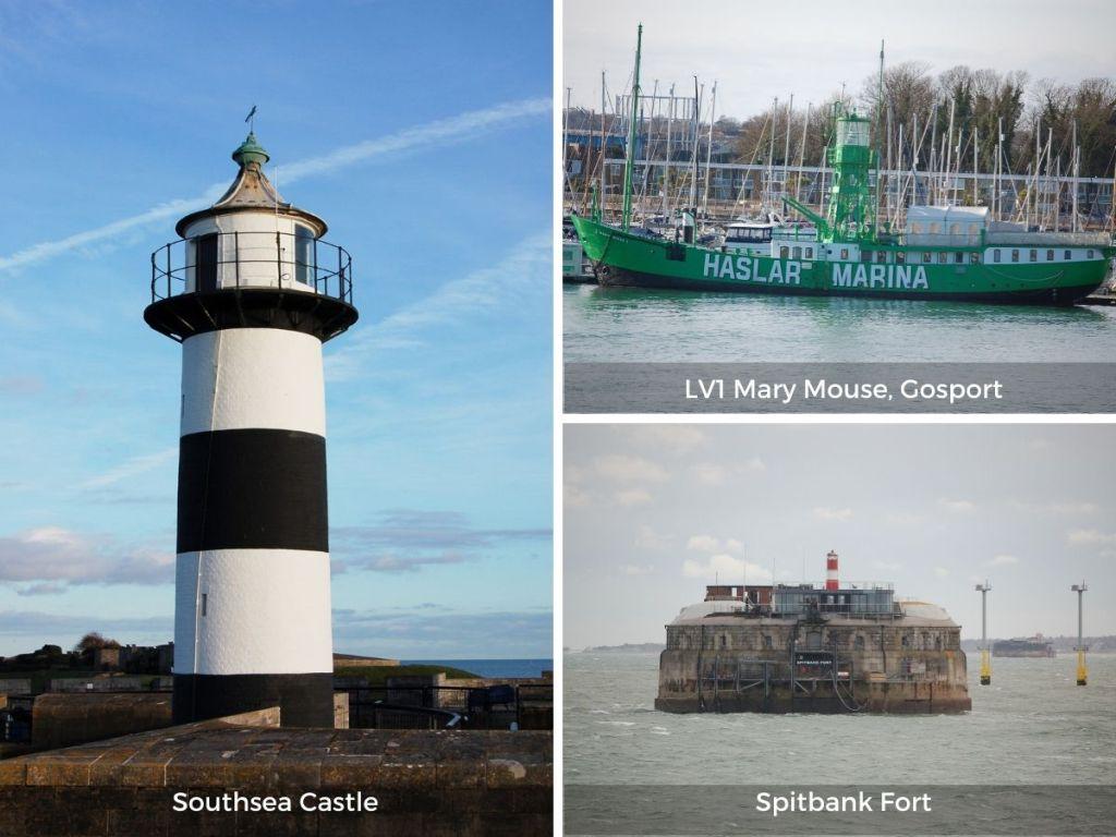 Hampshire lighthouses