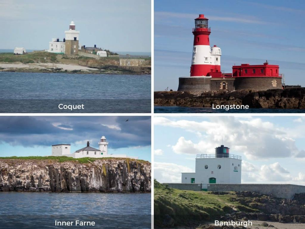 Northumberland lighthouses