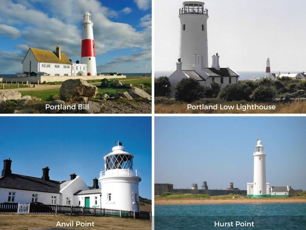South Central England lighthouses