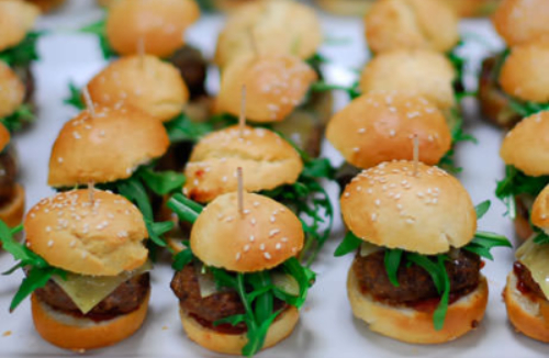 Catering Elk Sliders