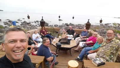 Small group fellowship at Tylers