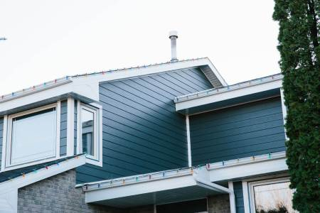 Winnipeg home with new siding