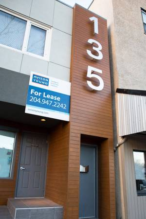 Hardie panels with longboard feature on business