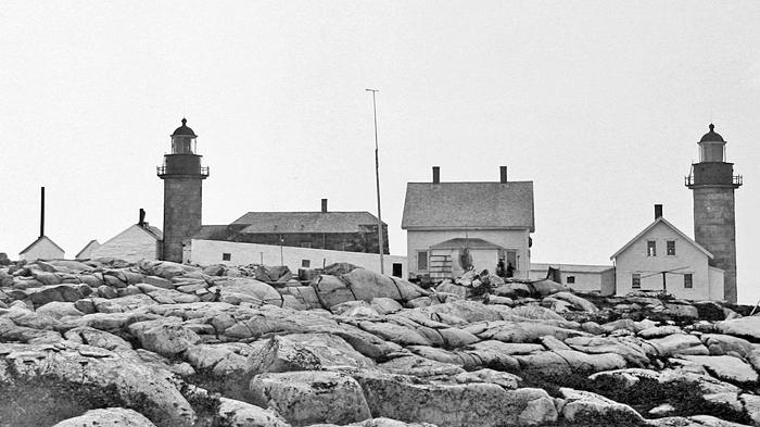 Matinicus Rock Lighthouse Maine At