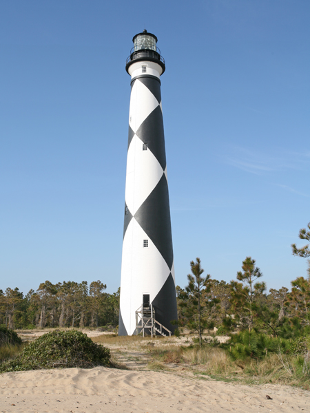 Cape Lookout Lighthouse North Carolina At