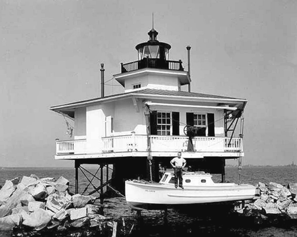 Choptank River Replica Lighthouse Maryland At