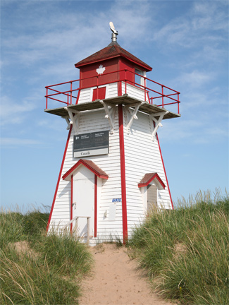 Covehead Harbour Lighthouse Prince Edward Island Canada At Lighthousefriends Com