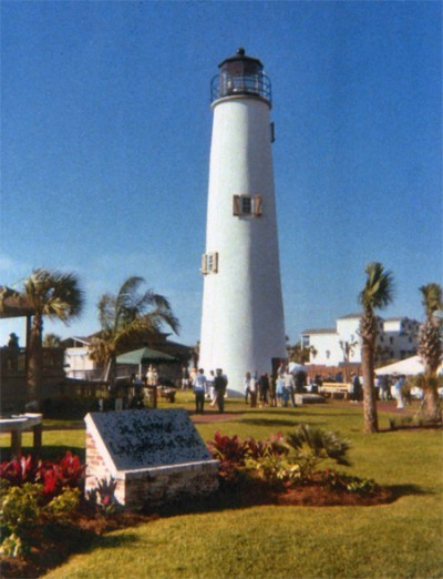 Cape St. George Lighthouse, Florida at Lighthousefriends.com