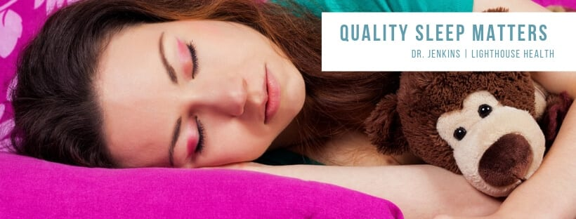 Quality Sleep Lighthouse Chiropractic Dr. Graham D. Jenkins Kelowna Chiropractor
