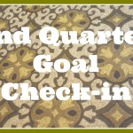 2nd Quarter Goal Check-in