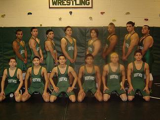 2008-09 Brentwood Wrestling Varsity Team Line-up