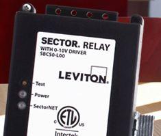 leviton sectorflex digital lighting management control system