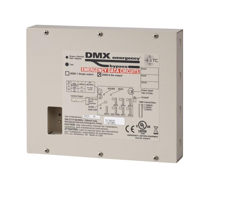 ETC Unveils DMX Emergency Bypass Controller