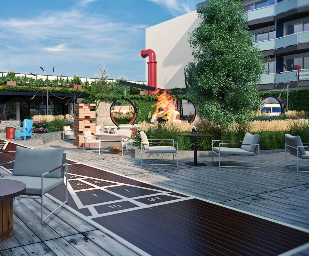 Hotel Zephyr Unveils Outdoor Lounge