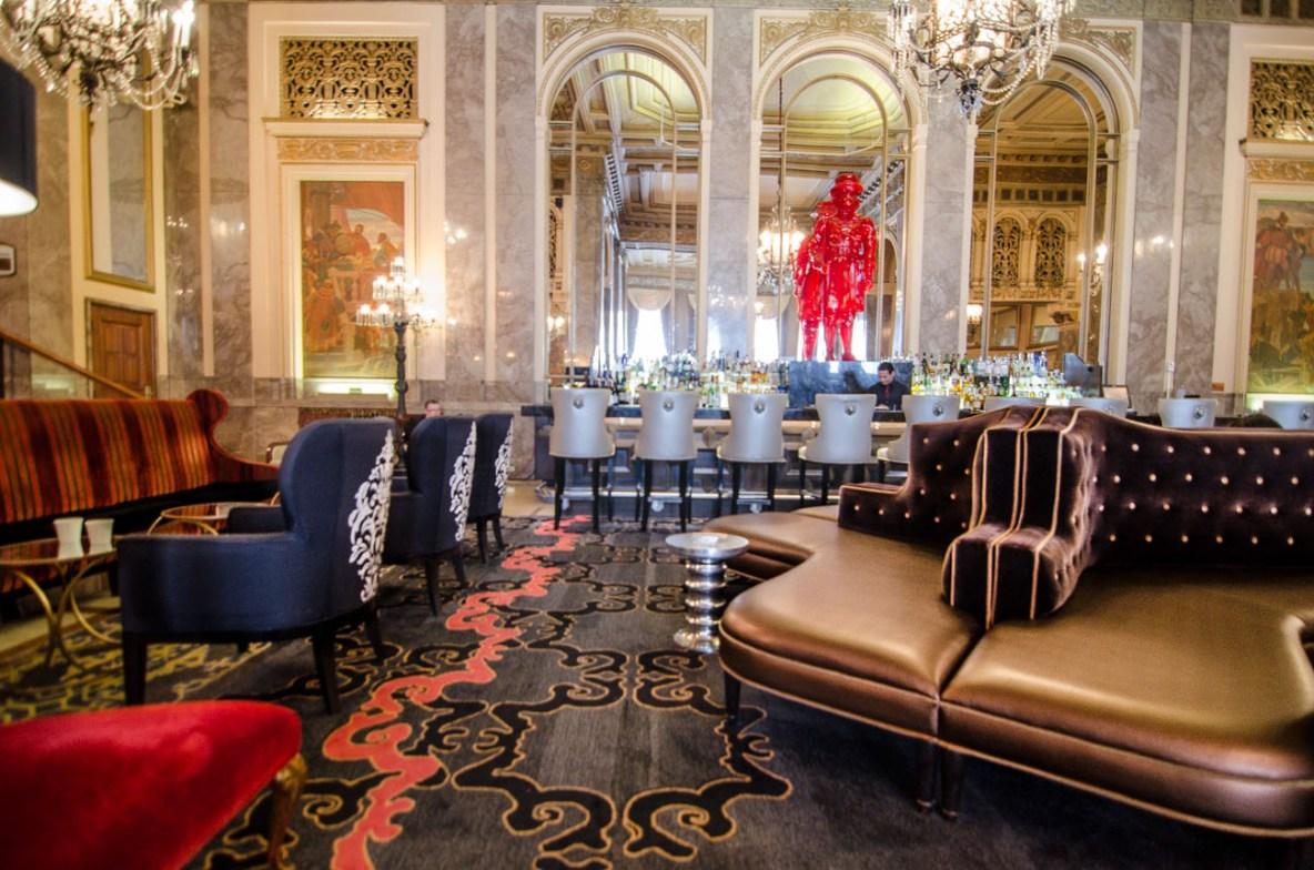 Sir Francis Drake lobby, San Francisco