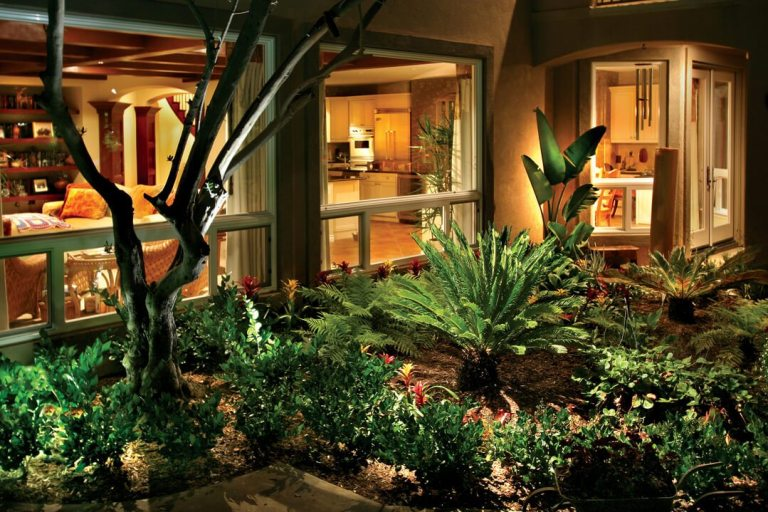 Uplighting vs Flood Lighting: What's the Difference in your Landscape Lighting Options?