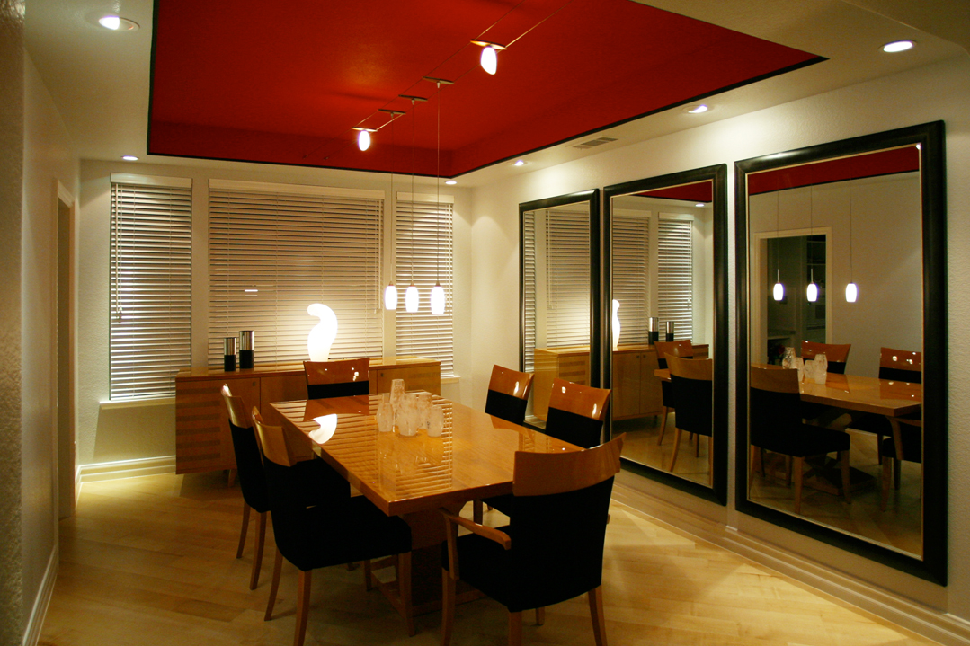 Dining Room Lighting - Lighting Distinctions creative indoor lighting