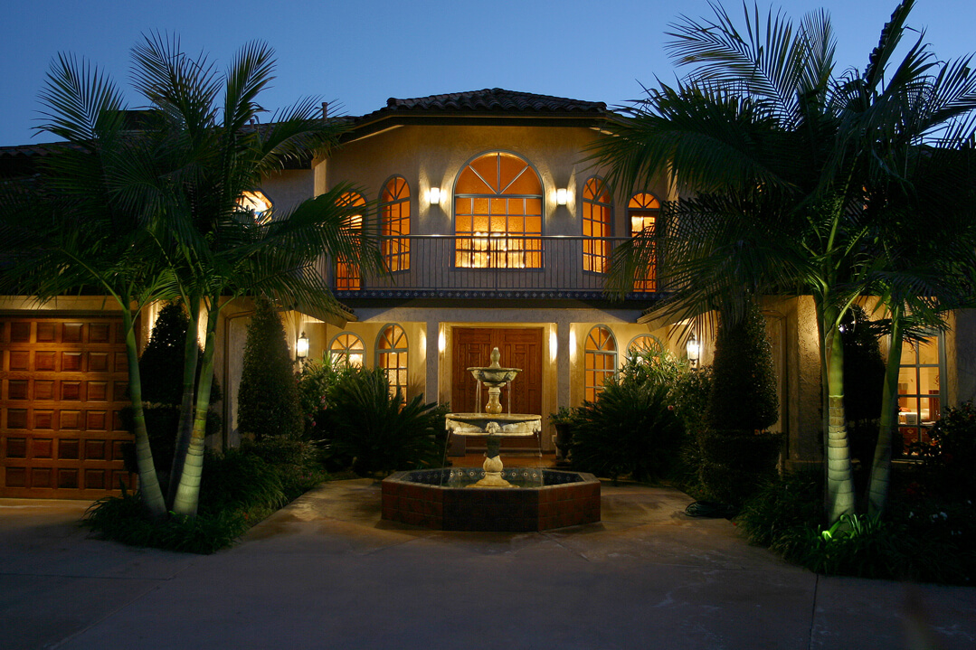 Outside Exterior Lighting in San Diego Lighting Distinctions
