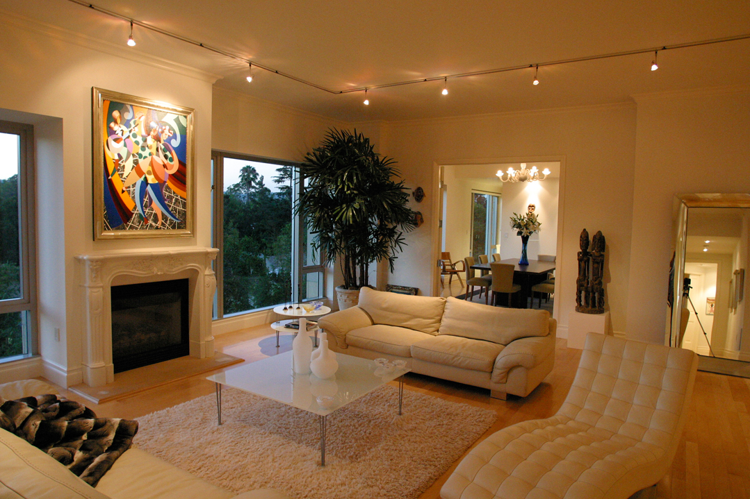Lighting Distinctions & Living Room Lighting - Track Lighting Recessed Lights Fixtures ...