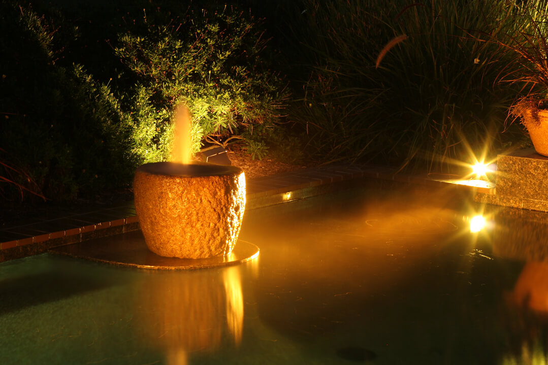 Pool Lighting Feature