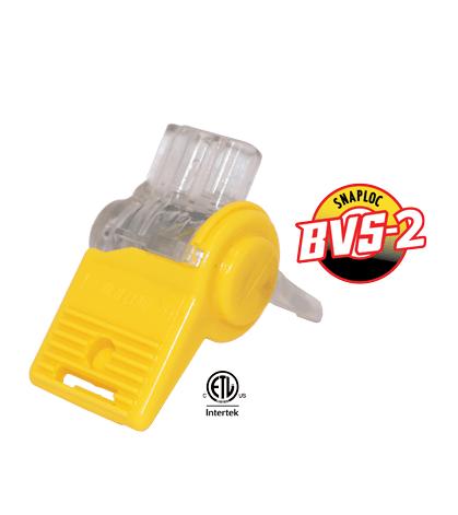 blazing bvs 2 snap lock low voltage wire connectors bag of 20