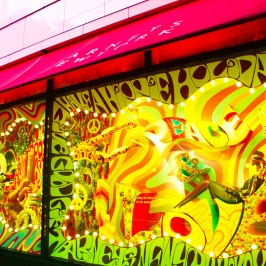 Colorful show window