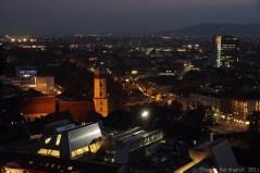 Photos taken on several evenings in Graz, Austria