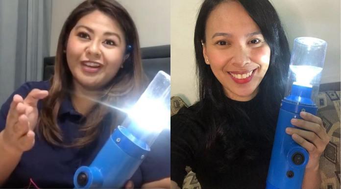 Saleema Refran and Vonne Aquino