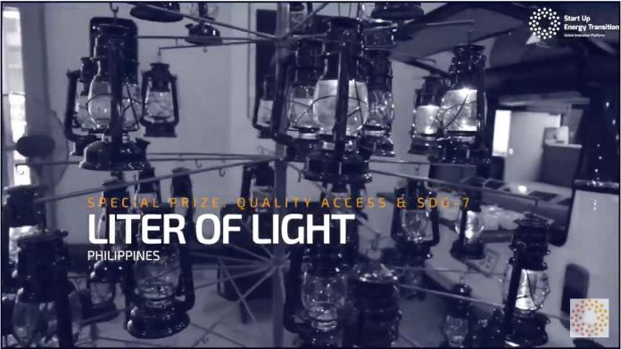 Liter of Light Startup Energy Transition Award