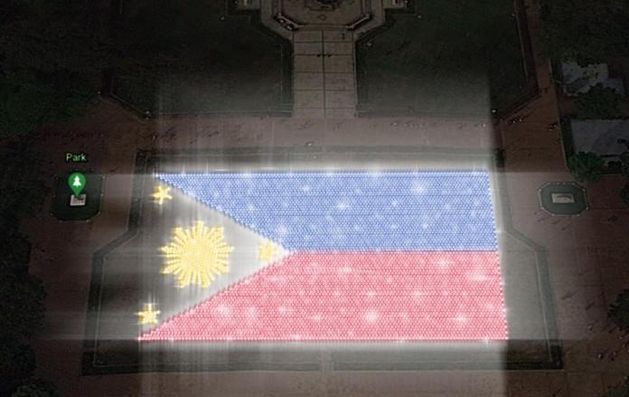 Liter of Light Bonifacio Day giant flag