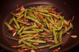 Step 4: Saute veggies until browned and tender