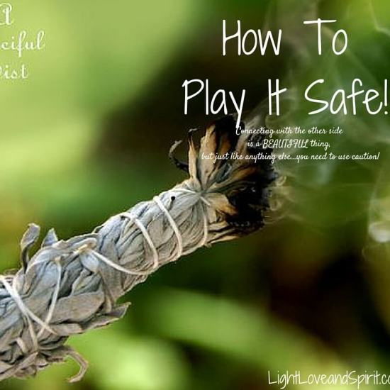 How to play it safe!