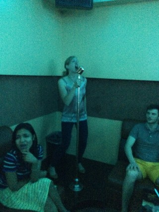 "Our lead singer, Jen, belts out ""Baby, baby, OOOOHHH!"""