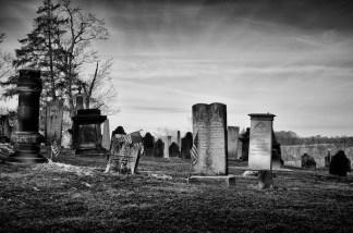Cemetery, St. Joseph Church, Somerset, Ohio; First Catholic church in Ohio