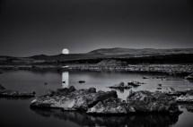 Moonrise, Study #2, Mono Lake
